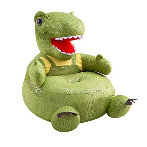 Domybest Copridivano per Bambini Senza Imbottitura Interna Seduta per Bambini a Forma di Dinosauro Poltrona per Bambini Morbida Divano per Bambini