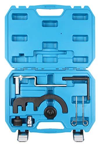 LLCTOOLS KfZ Dog - SLPRO Motor Einstellwerkzeug | Arretier Werkzeug | Spezialwerkzeug | Werkzeugkoffer Set | passend für Diesel N47 N57 | inklusive robustem Koffer