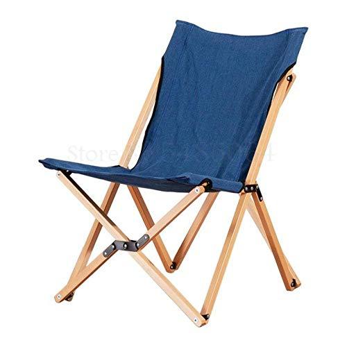 nkt Silla Plegable, Silla Mariposa, sillón reclinable Perezoso, sillón para balcón, sofá pequeño Individual, portátil al Aire Libre, Sparks Fy 1