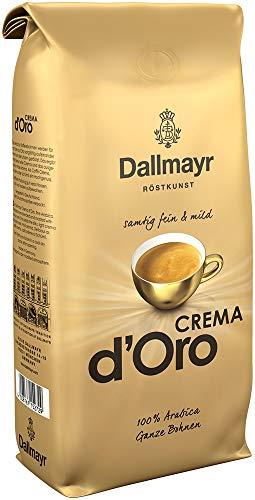 Dallmayr Kaffee Crema d'oro mild und fein Kaffeebohnen, 1er Pack (1 x 1000 g Beutel)