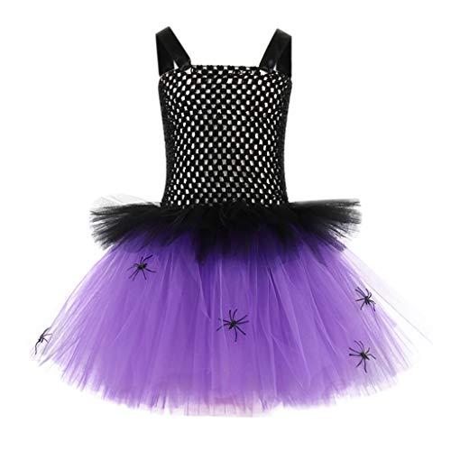Julhold Kleinkind Kinder Baby Mädchen Mode Elegant Halloween Kleidung Ärmellos...