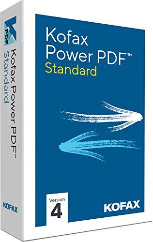 Kofax Power PDF Standard 4.0|1PC/WIN|Vollversion|unbegrenzte Laufzeit|Aktivierungscode per Post [Lizenz][KEINE CD]