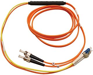 Tripp Lite Fiber Optic Mode Conditioning Patch Cable (ST/LC), 3M (10-ft.)(N422-03M)