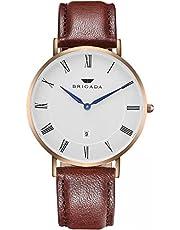 高級 時計 メンズ ブランド ブラウン 上品 腕時計 ブランド ファッション メンズ 時計 [並行輸入品]