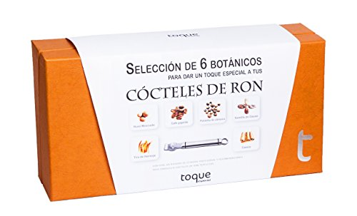 Toque Kit 6 botánicos para Ron: estuche premium con ingredientes, instrucciones y herramienta profesional - 135 g