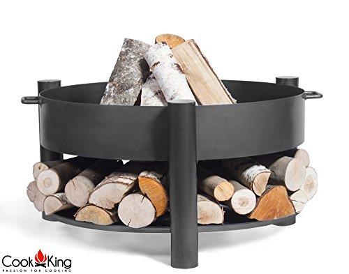 Cook King BBQ Grill Feuerschale Feuerstelle Montana + Edelstahlrost 70 cm ***NEU***