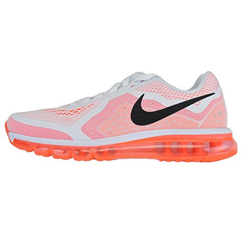 Nike Air Max 2014621077102Scarpe da corsa uomo, Bianco (Arancione/Bianco), 45.5