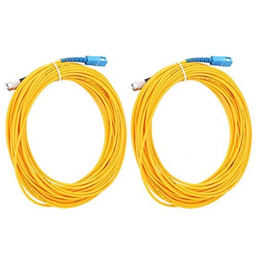 Cable de conexión de Fibra de virola de cerámica Material de PVC...