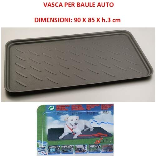 Compatible con Nissan ALMERA 5P Bolsa DE Tronco para Coches Bonnet Trasero Impermeable Adecuado para Transporte DE Perros Animales CONTENEDOR Deslizante Universal 90X85XH.3CM