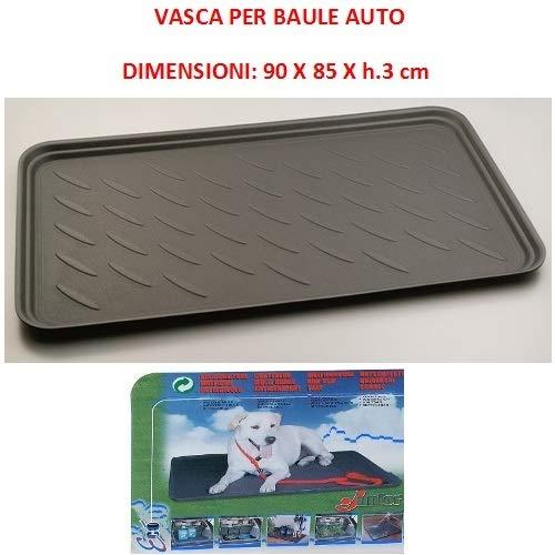 Compatibel met Sangyoung Action stamtas voor auto's, waterdichte muts, geschikt voor het vervoer van honden en huisdieren, universele vork, 90 x 85 x 3 cm.