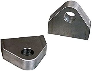 AtoZ Fabrication Pair of Flat Face Clevis Mounts (Without D-Rings)