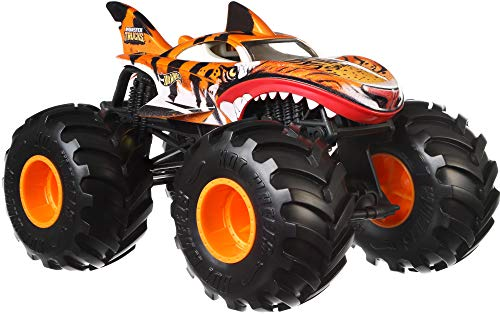 Hot Wheels Monster Truck Tiger Shark 1:24 Die-Cast Auto Fahrzeug