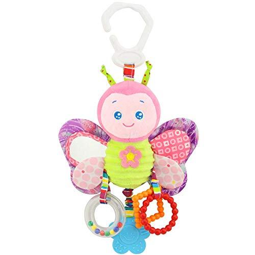Recién Nacido Juguetes Rattle Felpa del Juguete del Niño del Bebé Los Juguetes Colgantes Interactivo Y Educativo Juguetes Mariposa