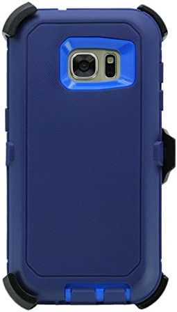 WallSkiN Turtle Series Belt Clip Cases for Galaxy S7 5 1 3 Layer Full Body w Screen Protector product image