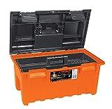 TRUPER CHA-19N 3.7Lb Extra-Wide Toolboxes Orange 19'X10 1/2'X10'