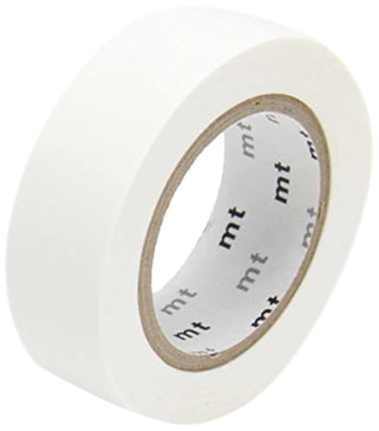 mt Washi Paper Masking Tape: 3/5 in. x 33 ft. (Matte White)