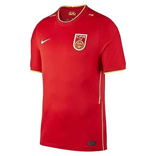 NIKE 2020-2021 China Home Football Soccer T-Shirt Camiseta