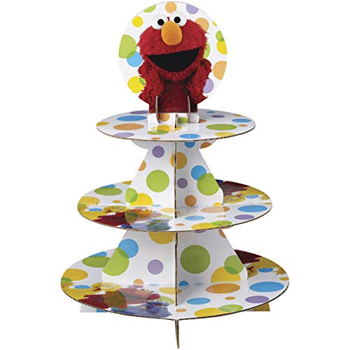 Wilton Sesame Street Cupcake Tower, Multicolor