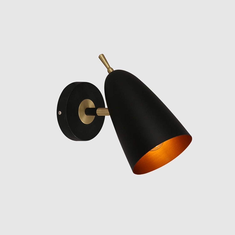 SCH Nordic Schlafzimmer Wandleuchte modernen minimalistischen Nachttischlampe kreative Persnlichkeit Restaurant Licht macaron Korridor Gang Wandleuchte (Farbe   A)