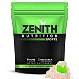 Zenith Nutrition Whey Protein with Enzymes for Digestion | 26g protein (Kesar Kulfi, 1050gms)