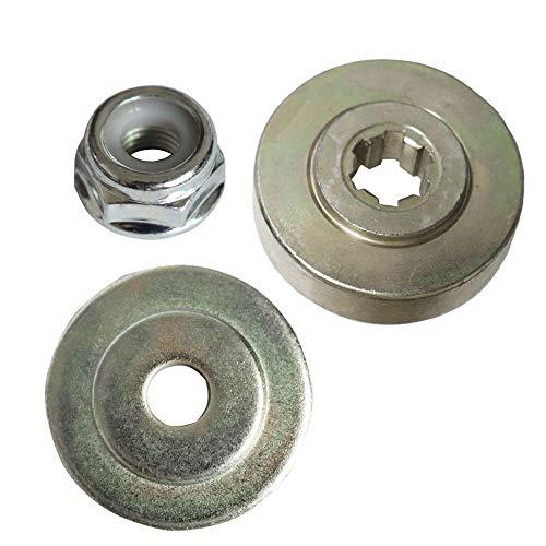 Kagni Outils de fixation, Kit de montage, Lame débroussailleuse de rechange avec écrou M10 pour coupe-bordures/débroussailleuse