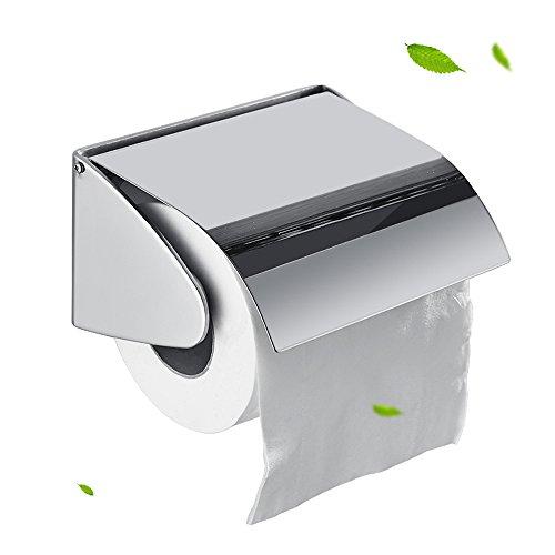 Rishx 304 Edelstahl Wandeinbau Eingebauter Toilettenpapierhalter Öffentliches Hotel Rosengold Verborgenes Rollengewebe