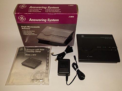 GE Answering Machine System 2-9815