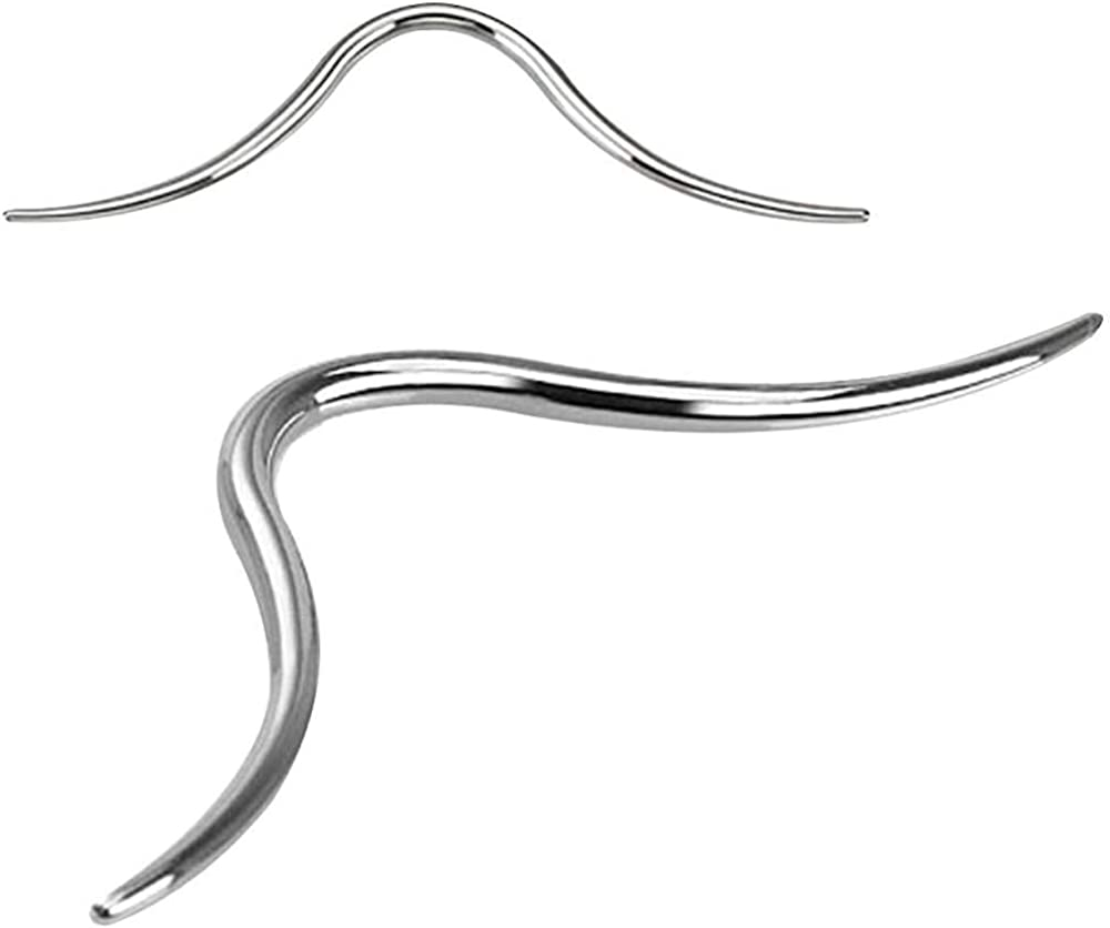 1.2mm 16g Septum Mustache Surgical Steel - Sold Individually