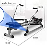 FYYDNR Rudergerät, magnetisches Rudergerät Rower for Hauptübung Digital-Monitor, 120kg Gewicht Kapazität, Bruttogewicht-17kg - 2