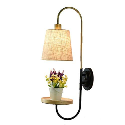 Tischlampe Lampen, kreative Persönlichkeit führt Nachttischlampe, modern und einfach, Schlafzimmer Aisle Treppen Korridor, Kinderwandleuchte, Schreibtischlampen für zu Hause,3W gelb