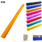 Xn8 Folding Gymnastics Balance Beam 7ft-8ft|Leather Tumble Mat for Kids-Gym-Home-Training-fitness