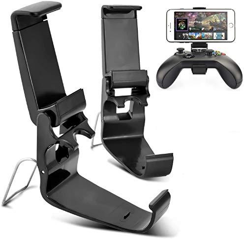 VOGSIG 2Pcs Support Manette Xbox One,Pliable Support Xbox One Controller et Le de Support de Téléphone,Postuler à Support Smartphone Xbox/Xbox One/S/X/Steelseries Nimbus Controller