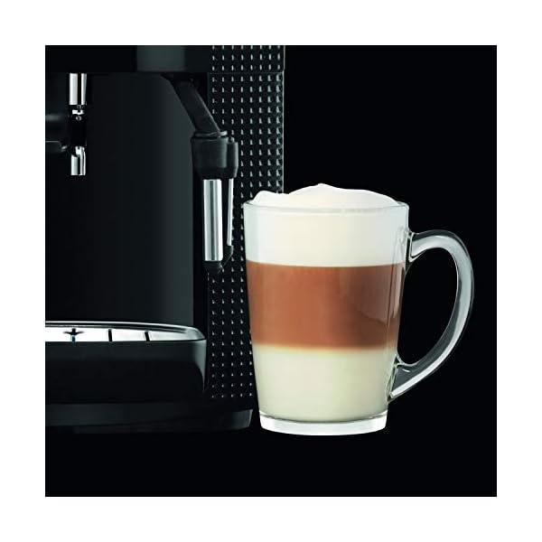 Krups EA8108 CAFETERAS, 1450 W, 1 Cups, Acero Inoxidable, Negro + F0540010