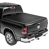 Lund Genesis Elite Tri-Fold, Soft Folding Truck Bed Tonneau Cover   958121   Fits 2014 - 2021 Toyota Tundra w/track...