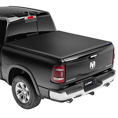 "Lund Genesis Tri-Fold, Soft Folding Truck Bed Tonneau Cover   95053   Fits 1999 - 2006, 2007 Classic GMC/Chevy Sierra/Silverado 6' 6"" Bed (78"")"