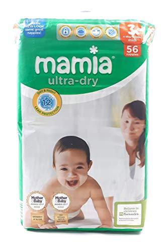 ALDI Mamia Ultra Dry Windeln, Größe 3, 56 Stück