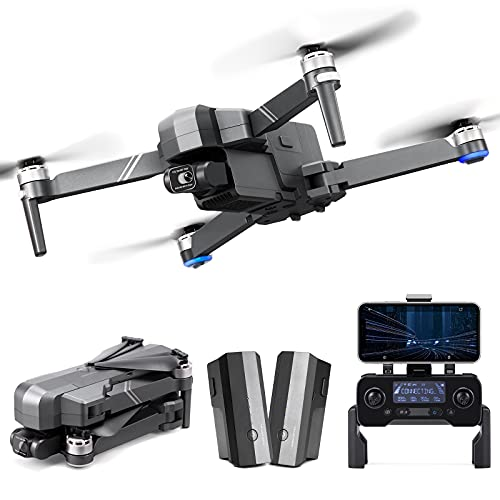 Ruko F11Gim2 Drone with 4K Camera for Adults, 3KM HD Video Transmission, 2-Axis Gimbal Quadcopter with EIS Anti-shake with 2 Batteries, Brushless Motor Level 7 Wind Resistance