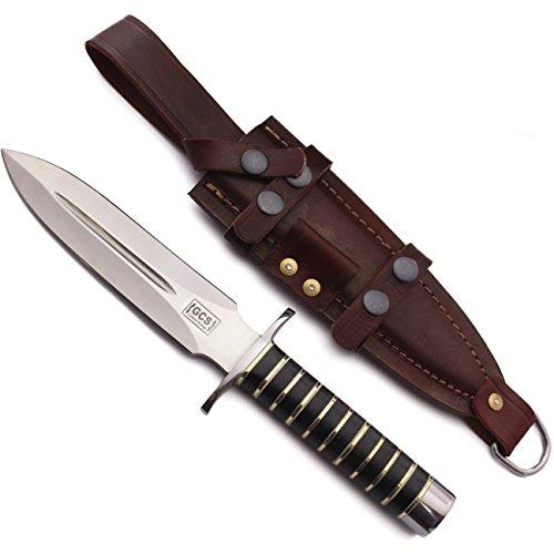 GCS Custom Handmade US Army Ranger Combat Military Dagger Knife with Buffalo Hide Sheath GCS166