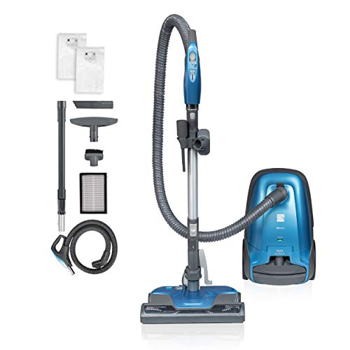 Kenmore BC3005 Pet Friendly Lightweight Bagged Canister Vacuum Cleaner with Extended Telescoping Wand, HEPA, 2 Motors, Retractable Cord, and 4 Cleaning Tools