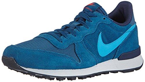 NIKE Internationalist Leather, Men's Running Shoes, Blue (Blue Force/Blue Lagoon/Obsdn), 8.5 UK (43 EU)