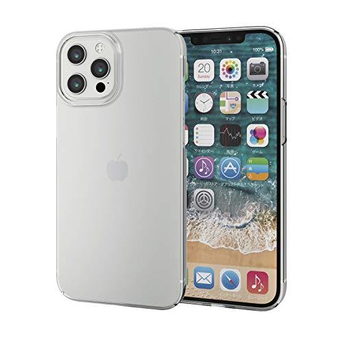 エレコム iPhone 12 Pro Max ケース ハード 極み クリア PM-A20CPVKCR