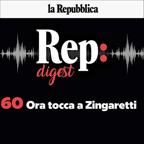『Ora tocca a Zingaretti』のカバーアート