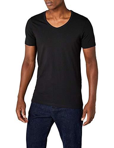 Jack /& Jones Uomo Maglietta a Maniche Corte T-shirt o-neck front print shirt Uomo Maglietta
