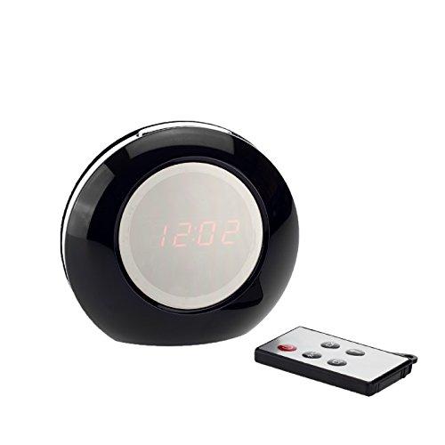 Full HD Multi Funktionale Wecker Kamera K35, 2 MPix, Überwachungskamera, Bewegungserkennung, Langzeitüberwachung versteckte Videoüberwachung, Spy Cam, von Kobert-Goods