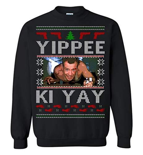Die Hard Christmas Sweatshirt (Medium) Black