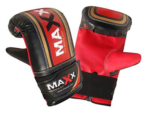 Maxx 4FT Triple BAG Black red body bag uppercut bag punch bag, angled boxing bag punching bag set+ free chain (12PCs SET WITH CEILING HOOK)