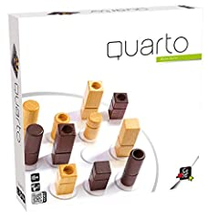 Two player game for ages 8+ Abstract strategy game with deductive reasoning Short playing time of 15 minutes High quality wooden game very durable Simple rules and easy to learn
