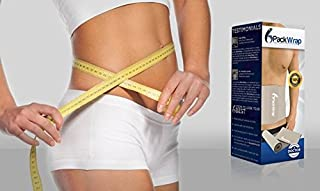 Six Pack Wrap – Adjustable Waist Trimmer and Weight Loss Ab Belt - Helps Shed Excess Water Weight,  Strengthen/Tone The Core,  Burn Fat,  Support Better Posture ~Doctor Approved~