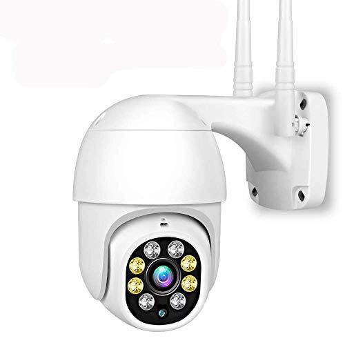 APROTII Exterior Cámara Seguridad, 1080P Wifi Hogar Vigilancia Cámara Domo, 2MP IP Cámara Con Visión Nocturna,Detección Movimiento,Acceso Remoto