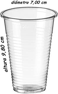 Sumicel Vaso Polipropileno Transparente 220 ml, Caja 3000